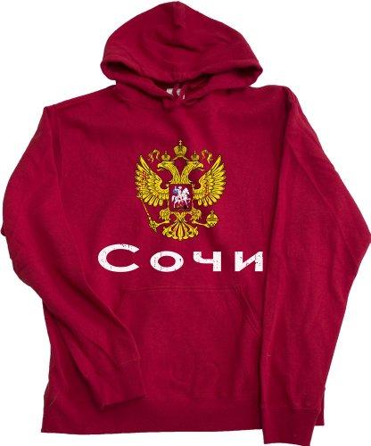 SOCHI, RUSSIA Hooded Fleece Sweatshirt / Russian Hoody