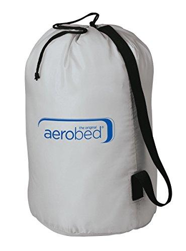 Aerobed Luftbett Premium Collection Double, Doppel Luftmatratze selbstaufblasend zwei Personen, Velour Gästebett mit aufschraubbarer Pumpe, 140 x 200 x 23 cm, max. 204 kg