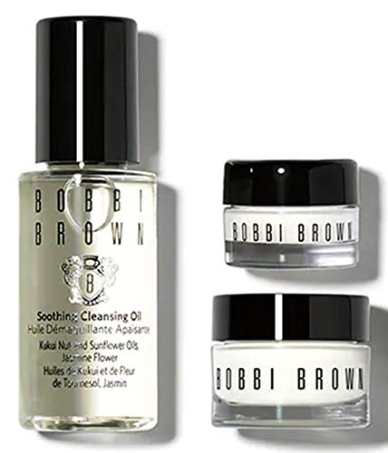 Kit Hydrating (Bobbi Brown Skincare Sets/Kits Hydrating Face Cream 30ml, Hydrating Eye Cream 7ml, Soothing Cleansing Oil 30ml)