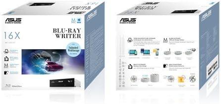 Asus 90DD0200-B20010 Internal Blu-Ray Writer DL BDXL , 16x DVD+//-R 12x BD-R SL 16x BD-R