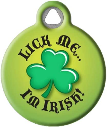 8 Shamrock Tags Gift Tags Patricks Day- Tags St Kiss Me I/'m Irish