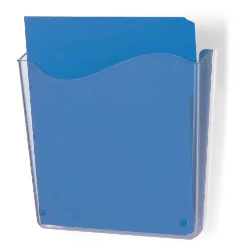 Officemate Unbreakable Wall File, Vertical, Clear (Officemate Wall)