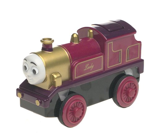 Learning Curve Thomas and Friends Wooden Railway - Battery - Powered - Engine Tank The Thomas Lady