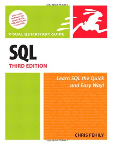 [PDF] SQL: Visual QuickStart Guide, 3rd Edition Free Download | Publisher : Peachpit Press | Category : Computers & Internet | ISBN 10 : 0321553578 | ISBN 13 : 9780321553577