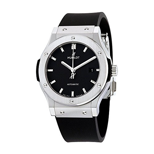 Hublot Classic Fusion Automatic Black Dial Titanium Mens Watch 542NX1171RX