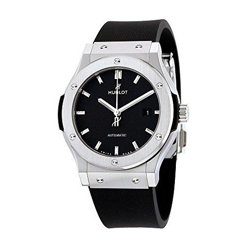Hublot Classic Fusion Automatic Black Dial Titanium Mens Watch 542NX1171RX