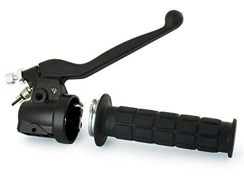 MZA Set: Gasdrehgriff mit Armatur - Simson S50, S51, S70, S53, S83, SR50, SR80