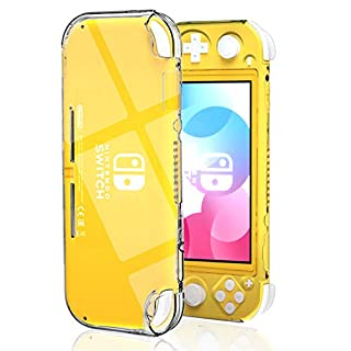 Protective Case for Nintendo Switch Lite, Hard Clear Case for Nintendo Switch Lite Without The Skins
