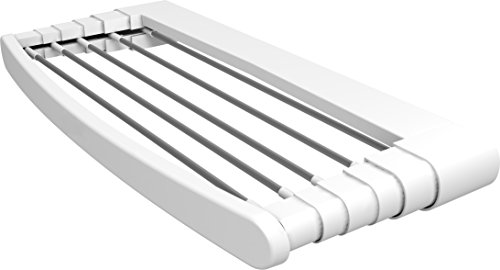 Gimi Extendable Collapsible Wall Mount Towel Drying Rack Tel
