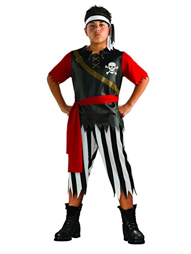 Boys Pirate King Costume (M 8-10)