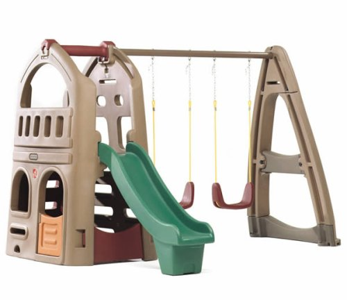 Step2  Naturally Playful Playhouse Climb