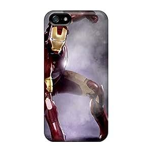 New Arrival VVd2453kZUt Premium Iphone 5/5s Case(iron Man Ground Fist)
