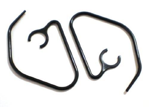 2 Slim Earhooks for Motorola HX1 ENDEAVOR HX-1 and Finiti Wireless Bluetooth Headset Ear Hook Loop Clip Earhook Hooks Loops Clips Earloop Earclip Earloops Earclip Replacement Part Parts