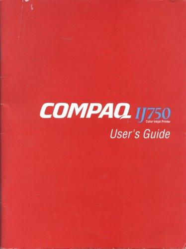 Compaq IJ750 Color Inkjet Printer User's Guide