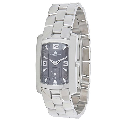 baume-mercier-hampton-65310-mens-watch-in-stainless-steel-certified-pre-owned