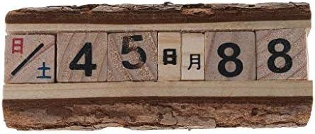 Calendario de madera hecho a mano para fotografía de bebé ...