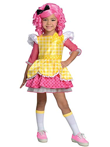 Lalaloopsy Deluxe Crumbs Sugar Cookie Costume, Toddler 1-2 ()