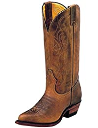 Boulet Western Boots Womens Cowboy Leather Hill Billy Golden 8838
