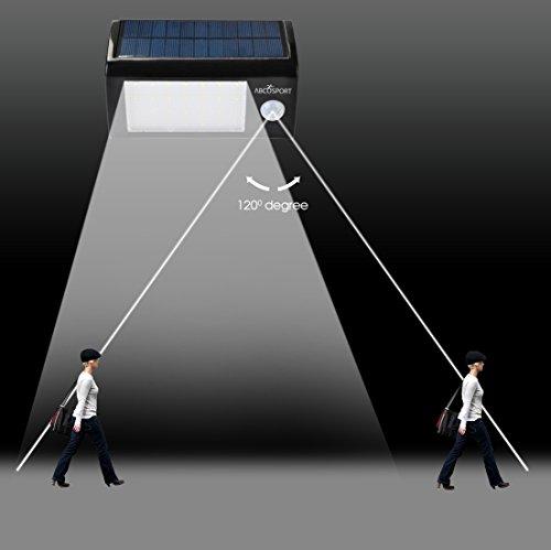 Solar Wall Light 28 Super Bright Led Lights Motion Sensor