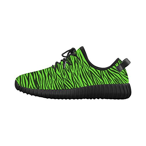 Womens Grus Woven Story Zebra D Shoes Custom Model Breatheable 022 Green Running Stripes 8xYaAXTqa