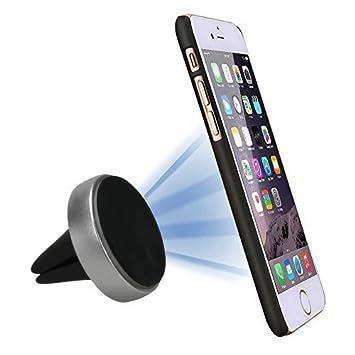 StikGo - Soporte móvil para coche DISK XL magnético, Pinza universal para sujetar cualquier móvil o GPS a las rendijas del coche: Amazon.es: Electrónica