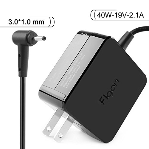 Flgan 40W 19V 2.1A Samsung series 9 AC Adapter Charger for S