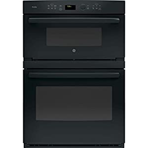 """PT7800DHBB 30"""""""" Built-In Convection Microwave/Wall Oven with 6.7 cu. ft. Capacity 16"""""""" Turntable Self-Clean with Steam Clean Option Glass Touch Controls and Self-Clean Heavy-Duty Roller Rack in Black"""