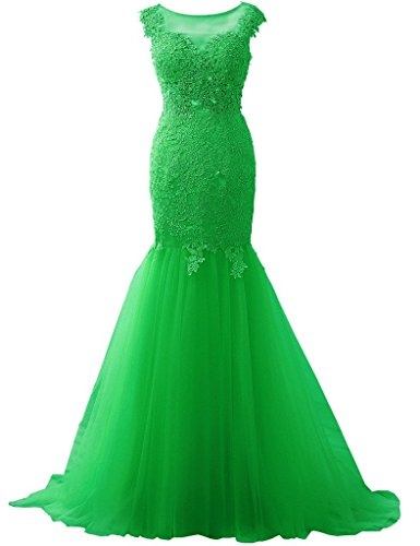 Fanciest -  Vestito  - linea ad a - Donna verde smeraldo 44
