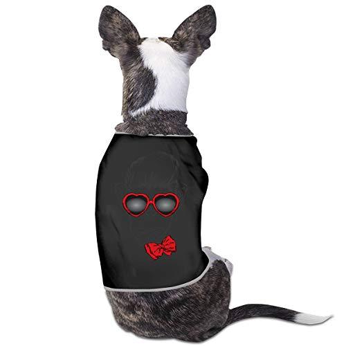 Nicokee Puppy Dogs Shirts Costume Gorilla Pets Clothing Warm Vest T-Shirt L ()