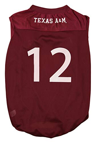 (Sporty K9 NCAA Football Dog Jersey, Texas A&M Aggies X-Large)
