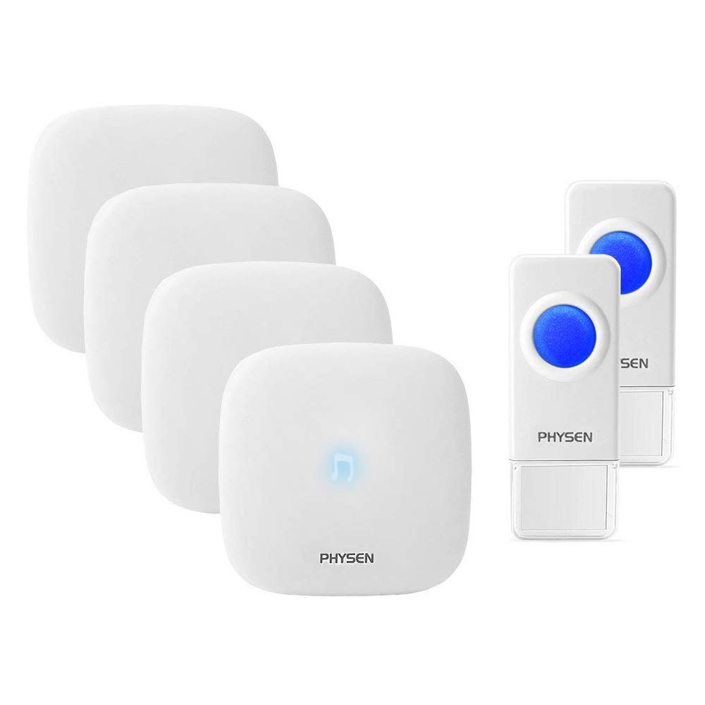 Wireless Doorbell H1 Waterproof Wireless Doorbell Door Chime Kit 2