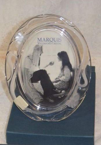 Waterford Marquis Oval Picture Frame 5 x 7 - Iris Design