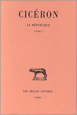 Livres gratuits La République. Tome I : Livre I pdf, epub ebook