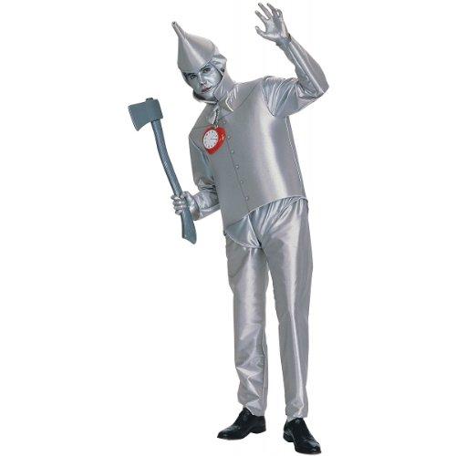 Men's Tin Woodsman Costumes (Tin Man Adult Costume (Fits up to 44 Jacket size))