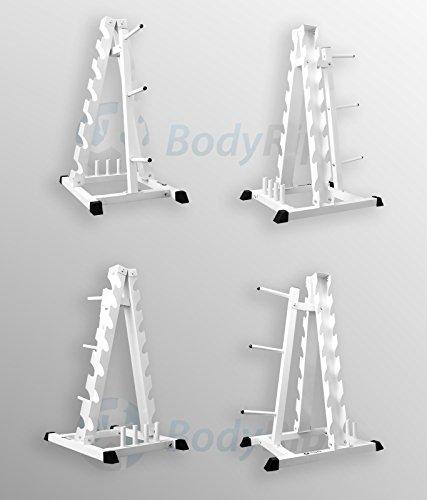 BodyRip Hantel Hex Gewicht Teller Barbell stehen Gym Storage Rack Baum Halter U7fVCqq085