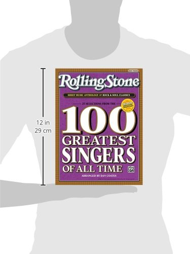 Rolling stone sheet music anthology of rock soul for Top 100 house songs of all time