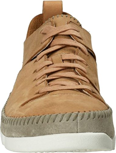 Clarks Heren Suede Trigenic Flex Sneakers Fudge