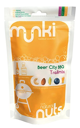 Munki Beer City BBQ Trail Mix 4oz (Pack of 6) (Best Barbecue In Asheville)