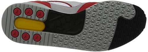 Diadora I.c. 4000 Nyl - Zapatillas Unisex adulto Blanco / Rojo Oscuro