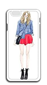Hard Skin Case Cover Shell iphone 6 case for girls cute - Illustration perfect body beauty