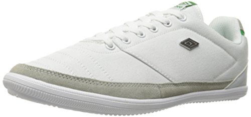 Fashion Sneaker, White/Green, 11 M US ()