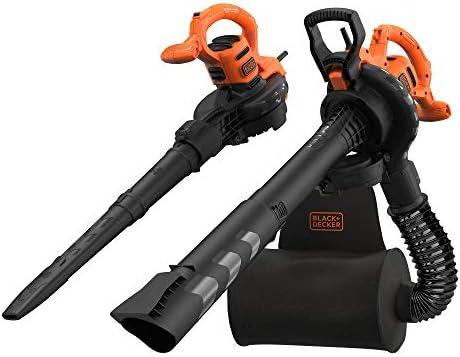 BLACK+DECKER BEBLV290-QS - Soplador, aspirador y triturador de hojas 2.900W, velocidad variable de 230-390 Km/h: Amazon.es: Bricolaje y herramientas