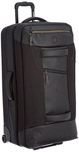 Volcom Men's Globe Trotter Rolling Bag, Black, One Size by Volcom