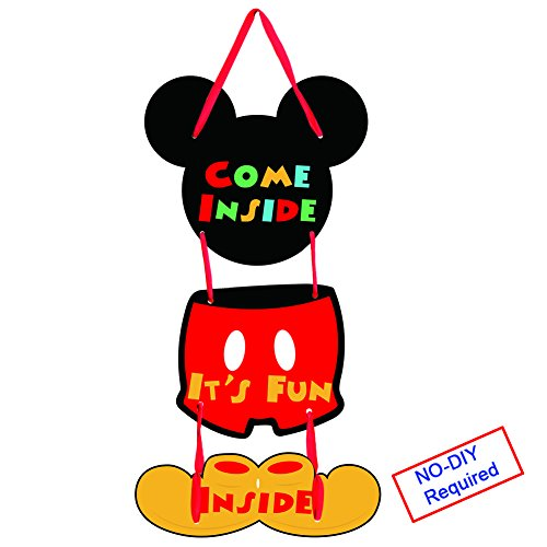 Threemart Mickey Mouse Party Supplies Come Inside It's