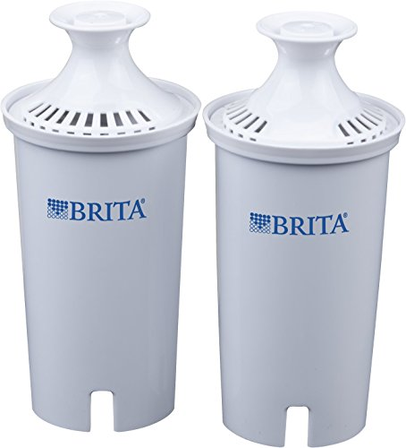Brita Standard Replacement Water Filter for Pitchers, 2 Count