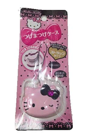 (Hello Kitty Cosmetics Case Pink (strap type, mobile) | Sanrio Licensed (case for Eyelash, Nail etc) [Japan Import])