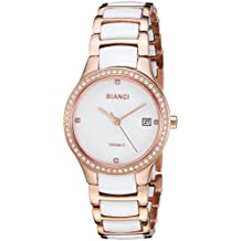 ROBERTO BIANCI WATCHES Women's 'Balbinus' Quartz Stainless Steel Casual Watch, Color:Two Tone (Model: RB2953)