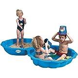 IMP 703 - Paradiso Toys Sand-/Wassermuschel, 2-teilig, blau