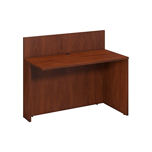 Bush Business Furniture Series C 48W x 24D Privacy Bridge/Return in Hansen Cherry ()