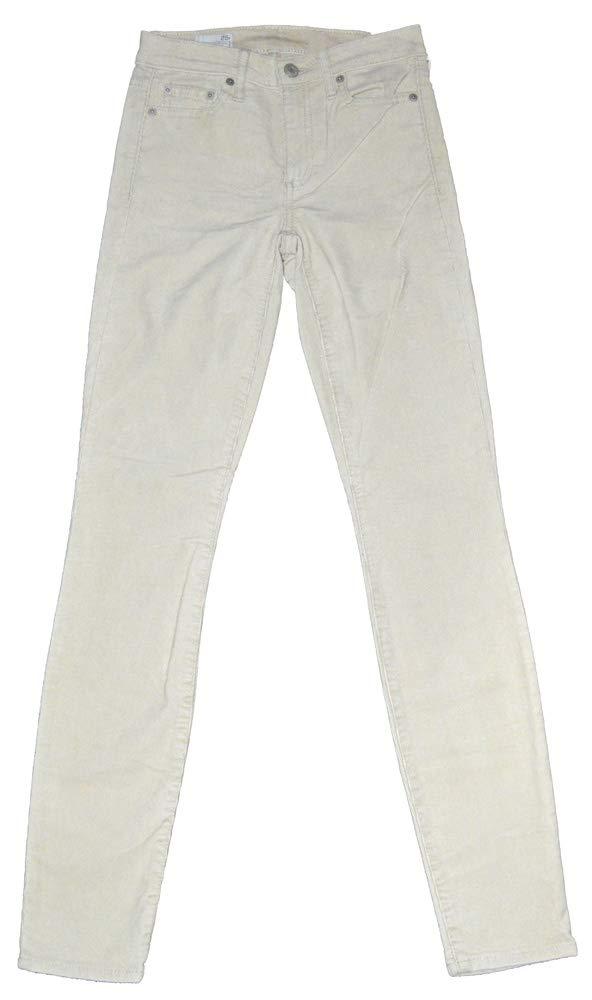 GAP Womens Beige Modern Stretch True Skinny Finewale Cord Corduroy Pants 25/0